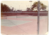 View of Alondra Park paddle tennis court